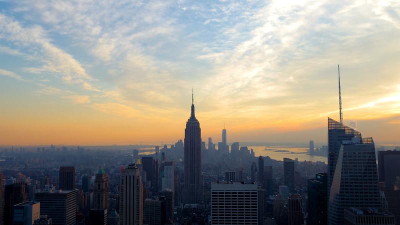 Nueva York desde el Rockefeller Center
