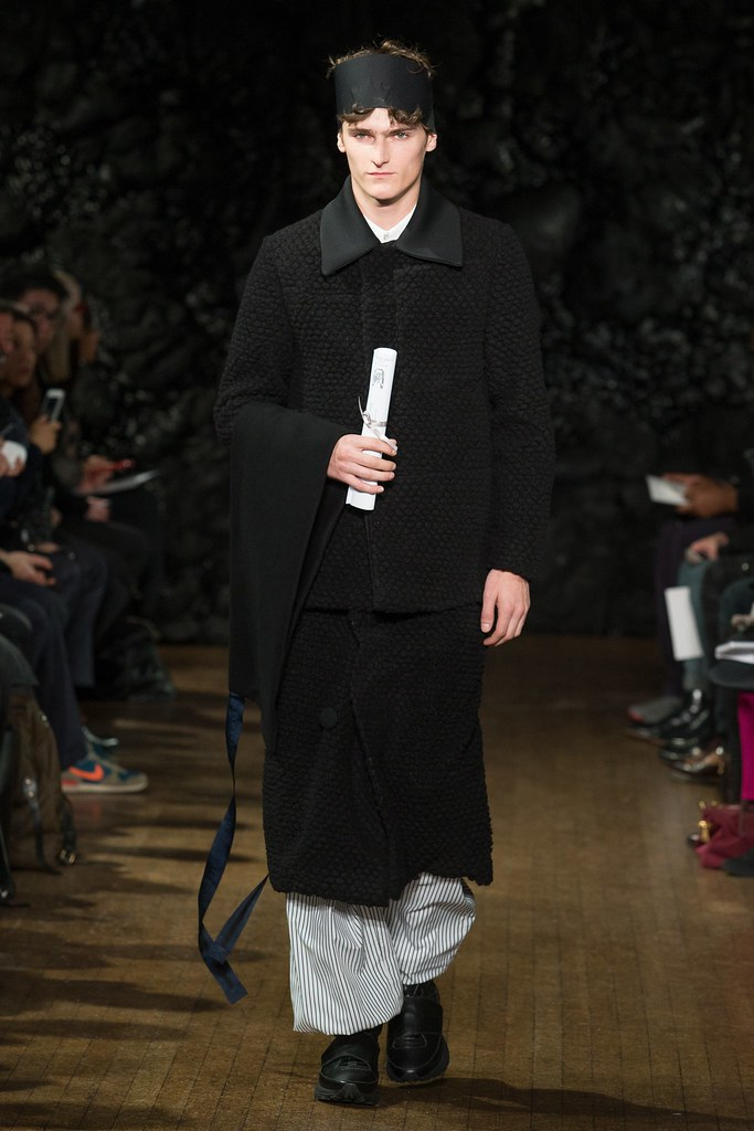 FW14 London Xander Zhou007_Alexander Beck(VOGUE)