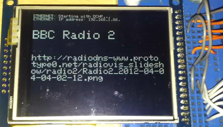 BBC Radio 2 on OLED