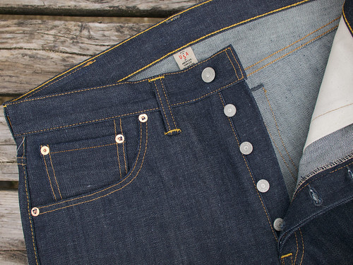 RRL / Slim-Straight Rigid Jean