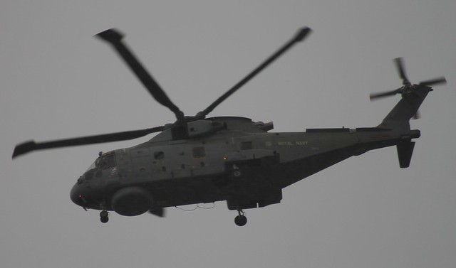 ZH833/10 overflying Cardiff 28/1/14