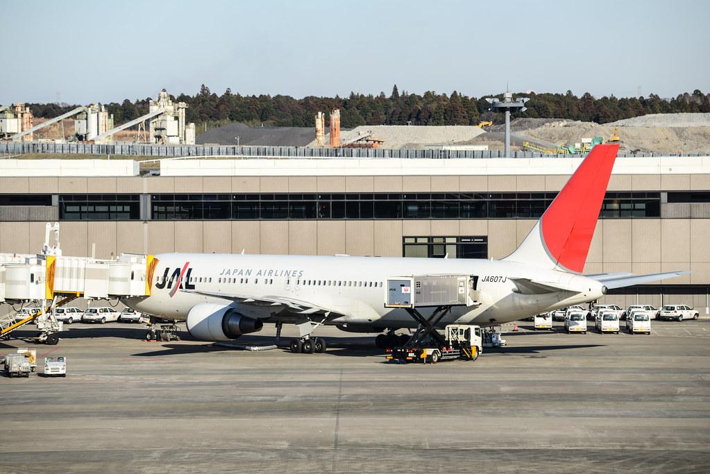 JAL 767-300 JA607J