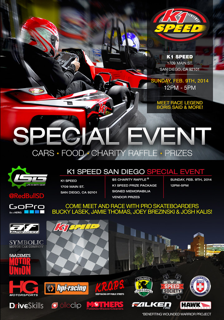 12296907194 86dc3b80b8 b Ribbon Cutting & Special Event // K1 Speed San Diego