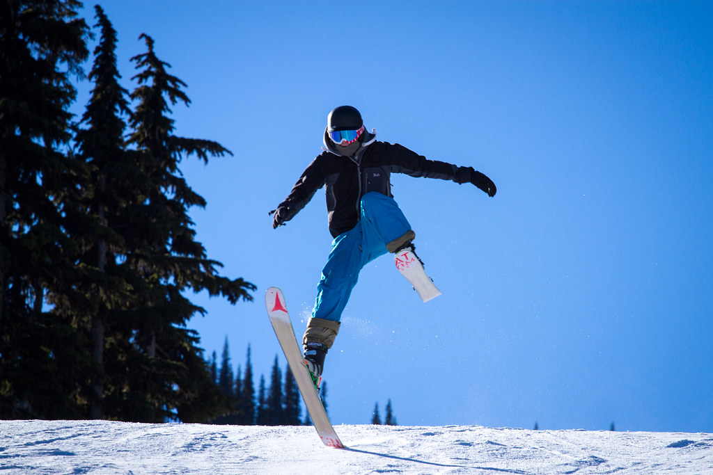 out of control skier whistler blackcomb