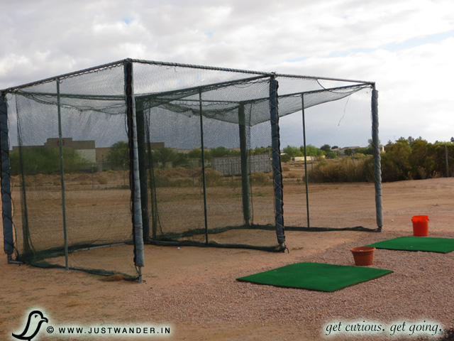 PIC: Monte Vista RV Resort - Practice your golf swing