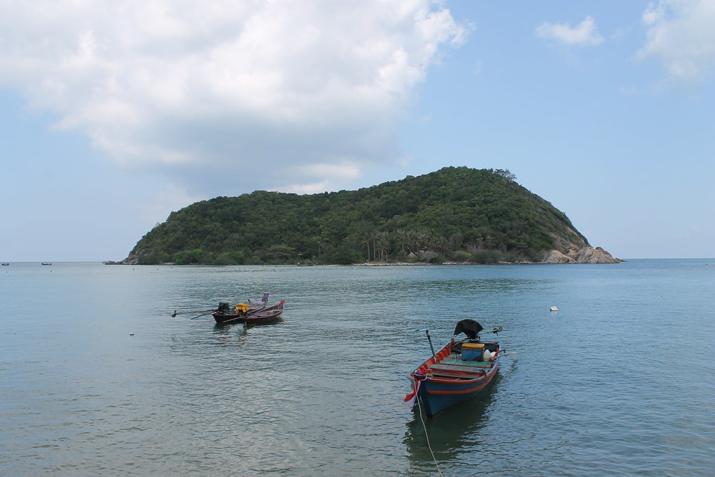 Koh Ma, off Haad Mae Haad, provided excellent snorkeling!