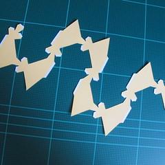 วิธีทำของเล่นโมเดลกระดาษรูปพระอาทิตย์ยิ้ม (Smiling Sun Paper Craft Model) 002