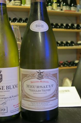 "2011 Meursault ""Vieilles Vignes"", Seguin Manuel"