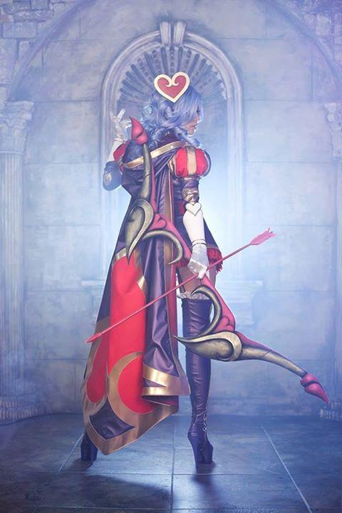 Tasha as Heartseeker Ashe