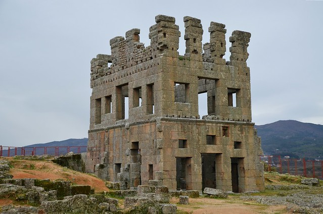 Roman tower of Centum Cellas, Belmonte, Portugal