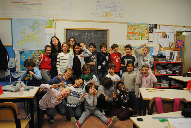 program fm everywhere padua padova italy i bambini i was so fortunate to assist teaching english at a local elementary school in my host city