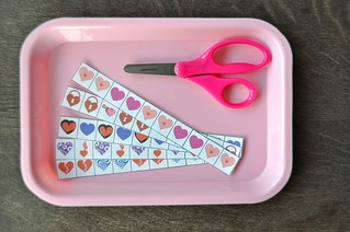 Valentine's Day Cutting Strips