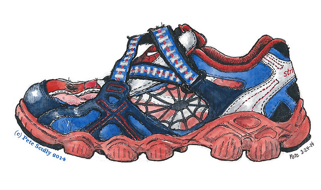 spiderman shoe