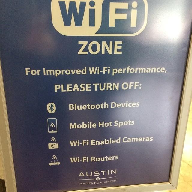 wifi works #sxsw