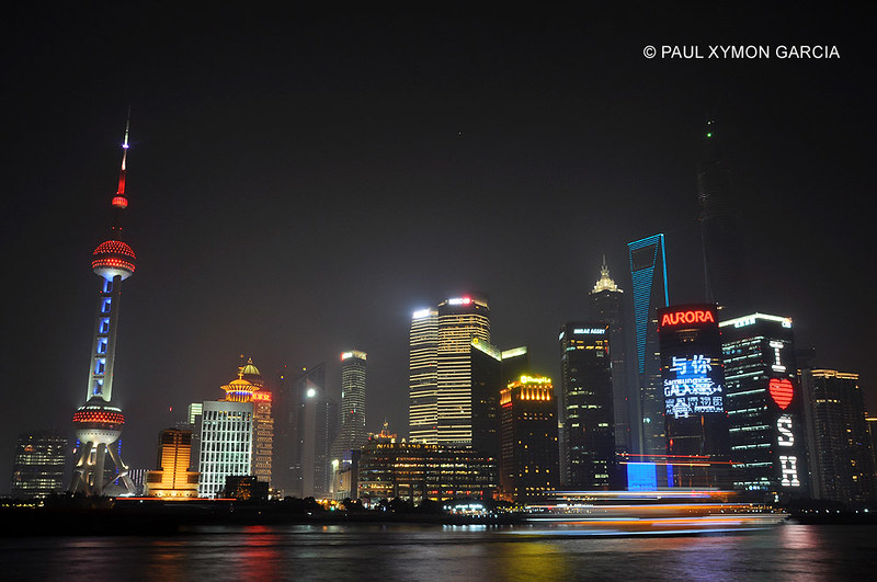 Pudong Skyline, Shanghai, China