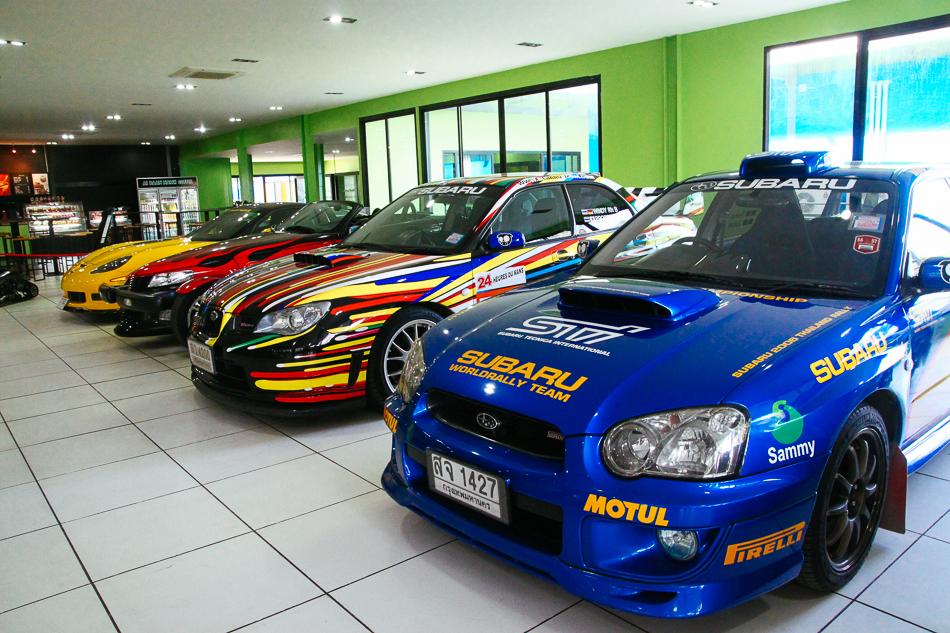 Car Showroom, Nong Nooch Tropical Garden, Pattaya
