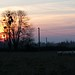 Small photo of Sunset over the pasturage