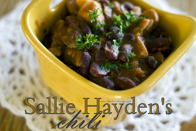 Sallie Hayden's Chili