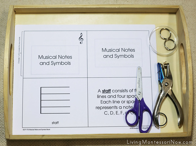 Musical Notes and Symbols Book