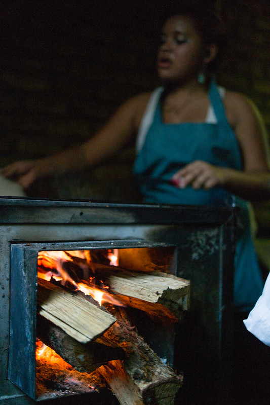 Tortilla Maker in Colonia El Pedregal Tegucigalpa, Honduras