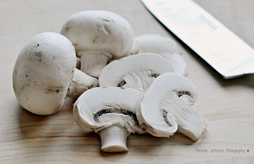 107/365 ~ sliced mushrooms