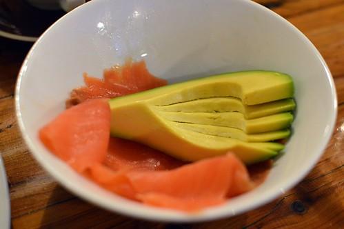 Clipper Cafe: Smoked salmon + avocado