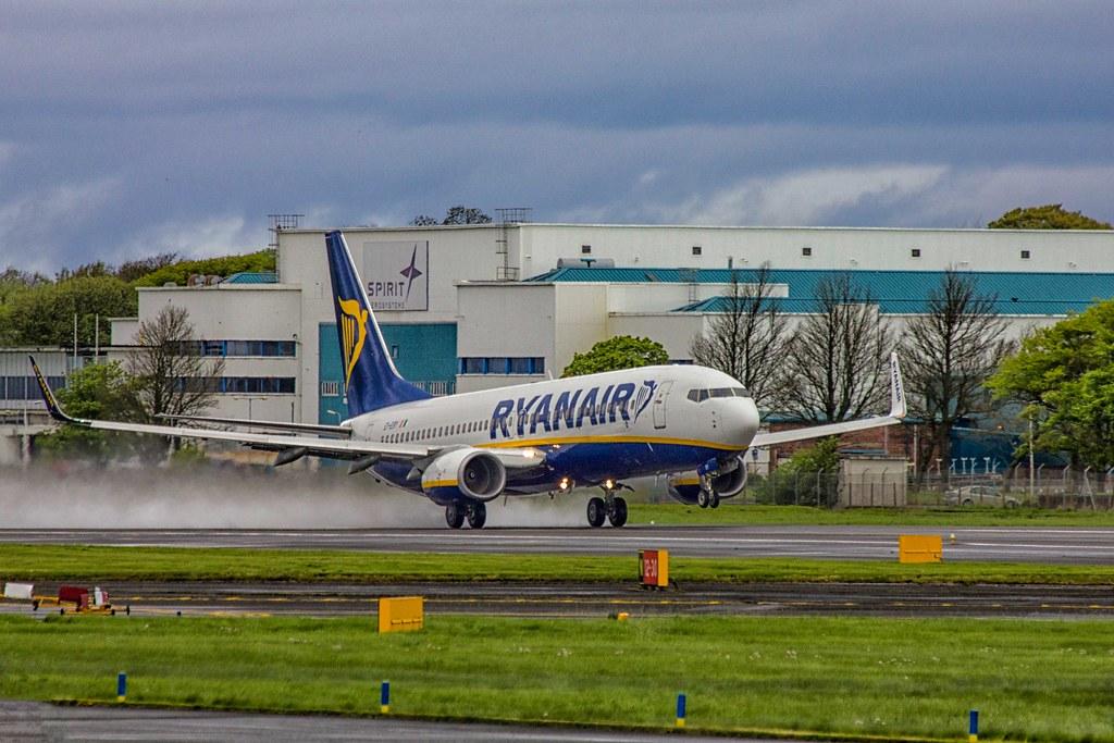 Ryanair 771 PIK -DUB 10-05-14