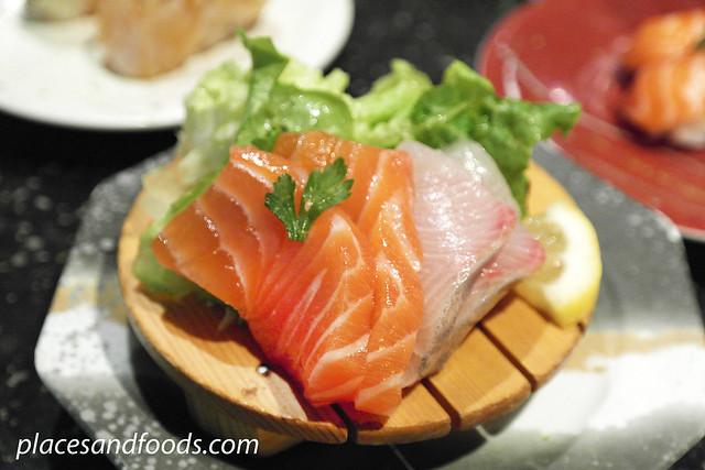sushi rio sashimi