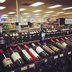 Gotta stock up for the weekend  #liquor #liquorama #wine #vodka #rum #liquorstore