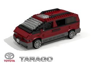 Toyota Tarago Mk II (1990) - Previa