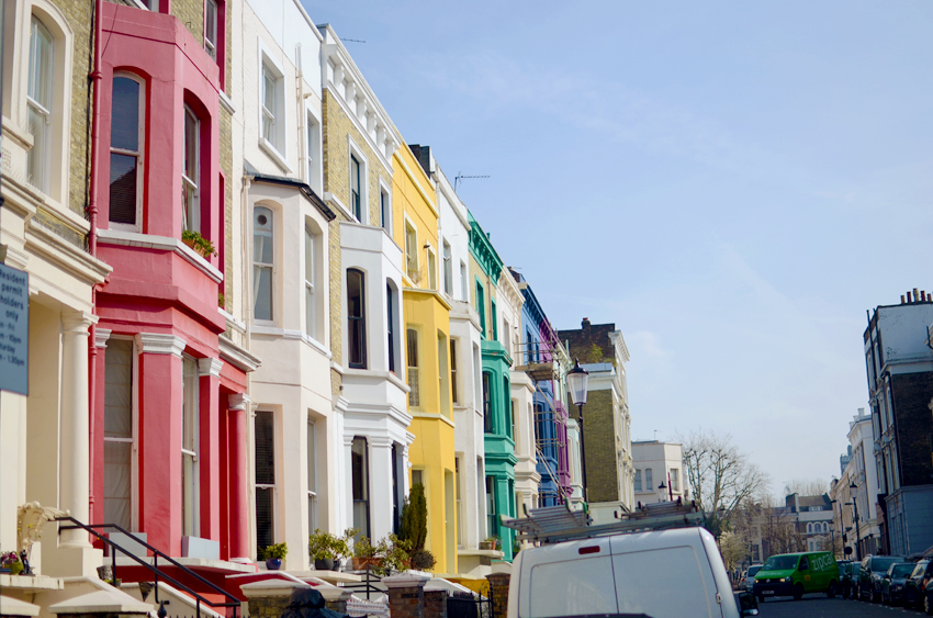 portobello colurful houses b