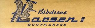 Brødrene Larsen - Buntmakere (1960)