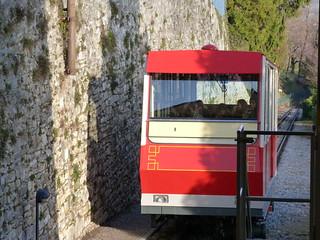 Funicular del Castillo de San Vigilio (Bérgamo)