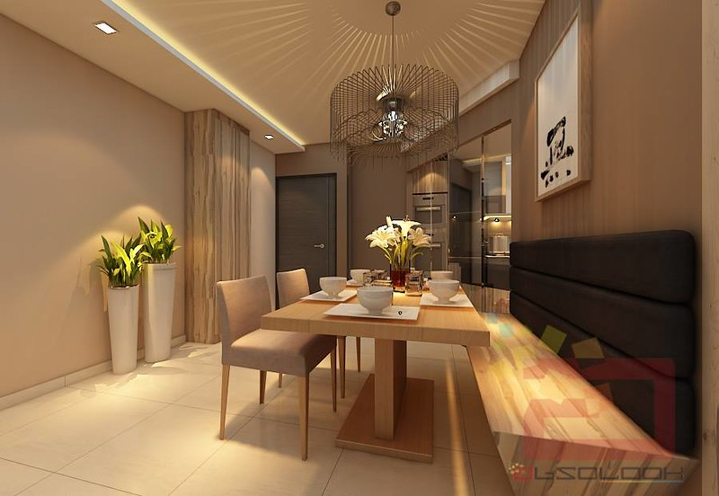 HDB BTO 4 Room Natural Wood Design Blk 528B Costa Ris