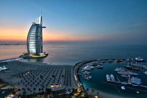 Burj Al Arab - Sunset