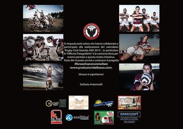 Calendario Particolare.Atleti Rugby Club Granata Realizzano Calendario 2015