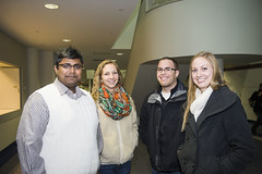 MPH students attend 2014 DO Lecture