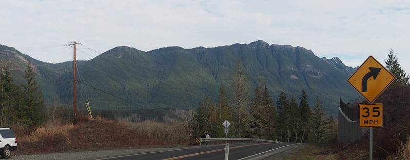 Mountains in Oso