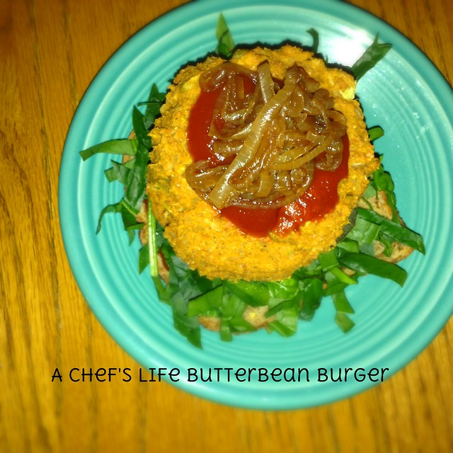 A Chef's Life butter bean burger