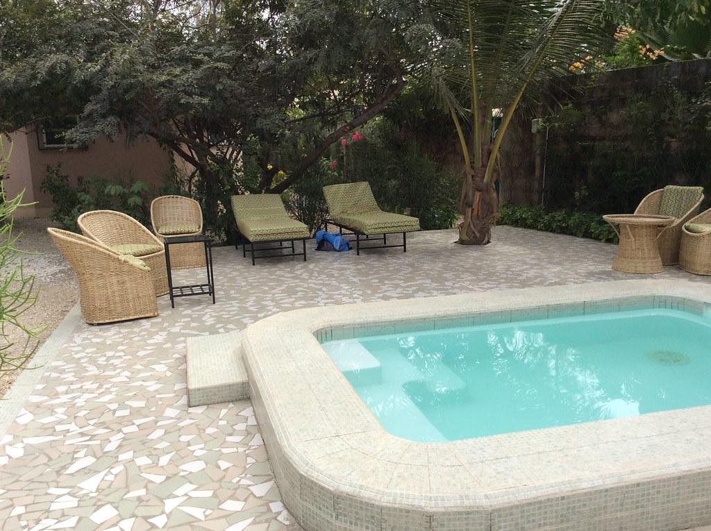 Farakunku plunge pool  Gambia
