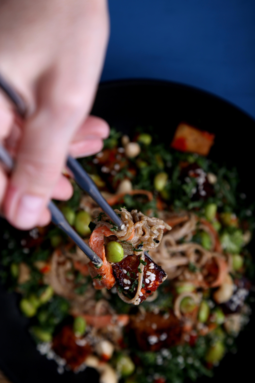 Tahini Noodle Bowl