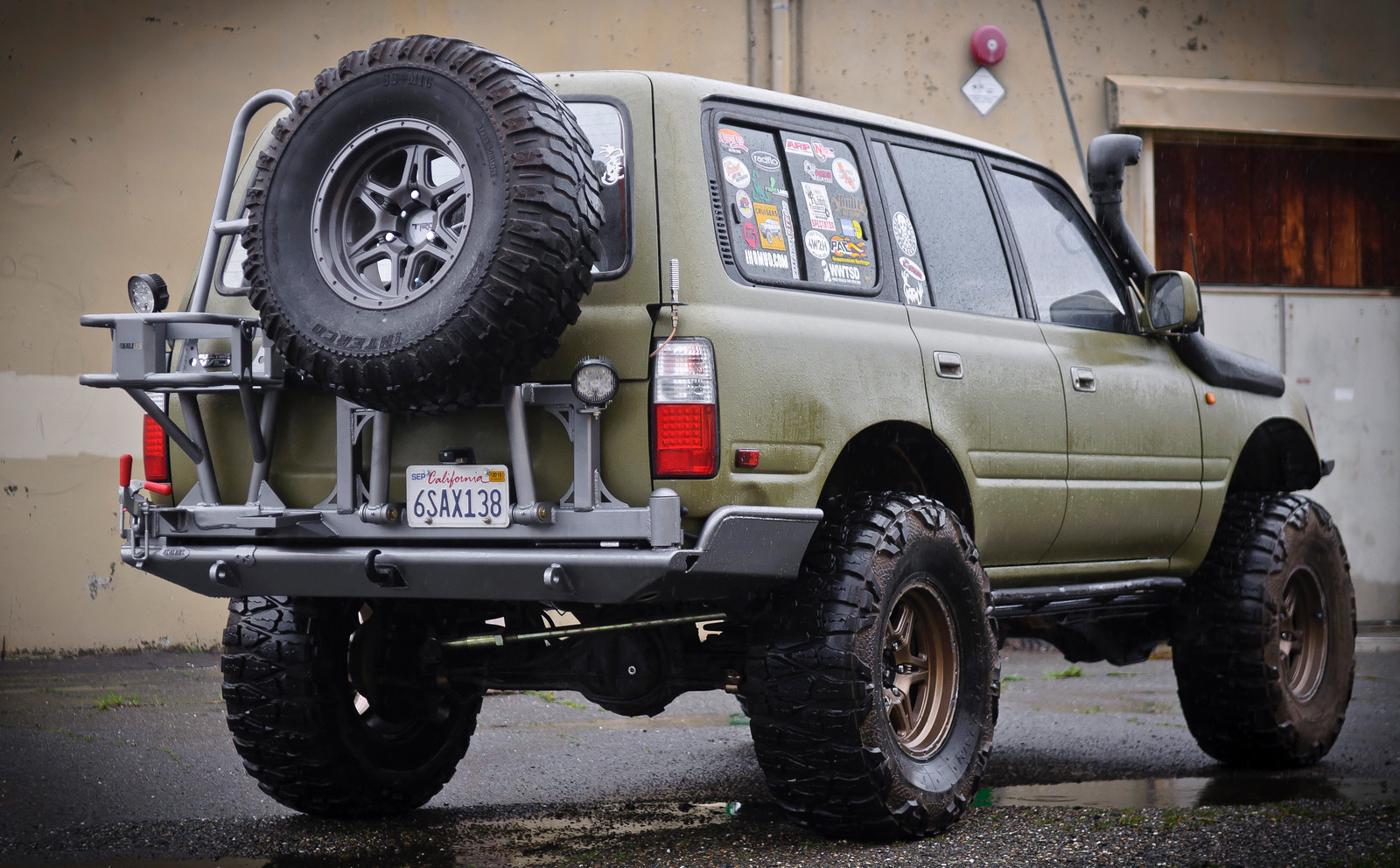 For Sale - 4x4Labs 80 series Rear Bumper, single swingout ...