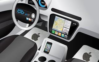 Un brevetto Apple per l'auto elettrica?