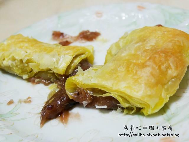 懶人料理酥皮紅豆年糕 (5)