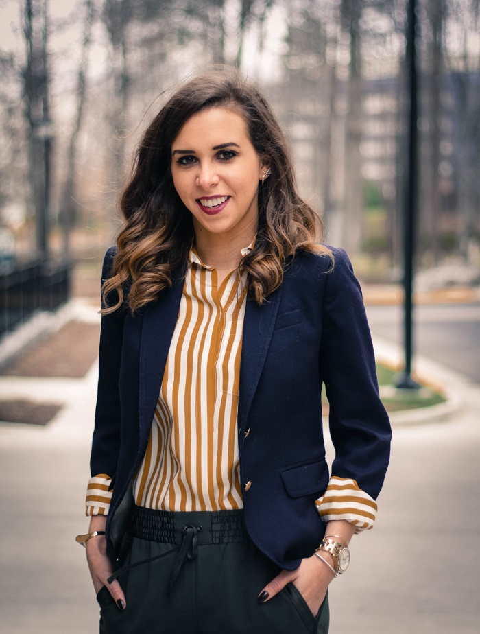 va darling. blogger. fashion blogger. dc blogger. jcrew. office attire. loft trousers. leather brogues. 1
