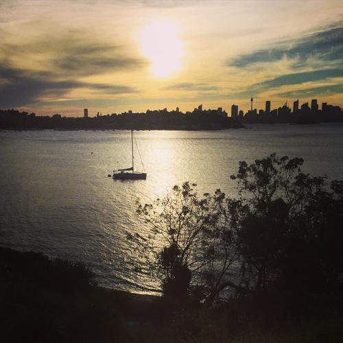january bites… sunset swims