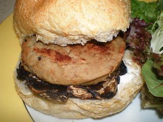 Stuffed Mushroom Burgers