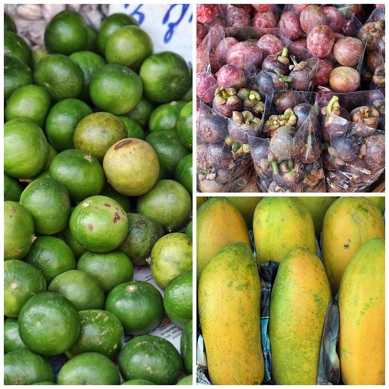 Local Thailand Fruit, Somphet Market, Chiang Mai, Thailand