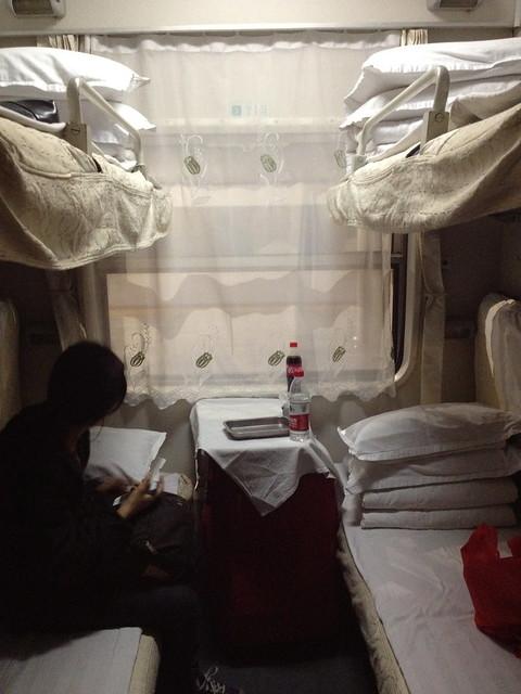 sleeper train from Nanning China to Hanoi, Vietnam