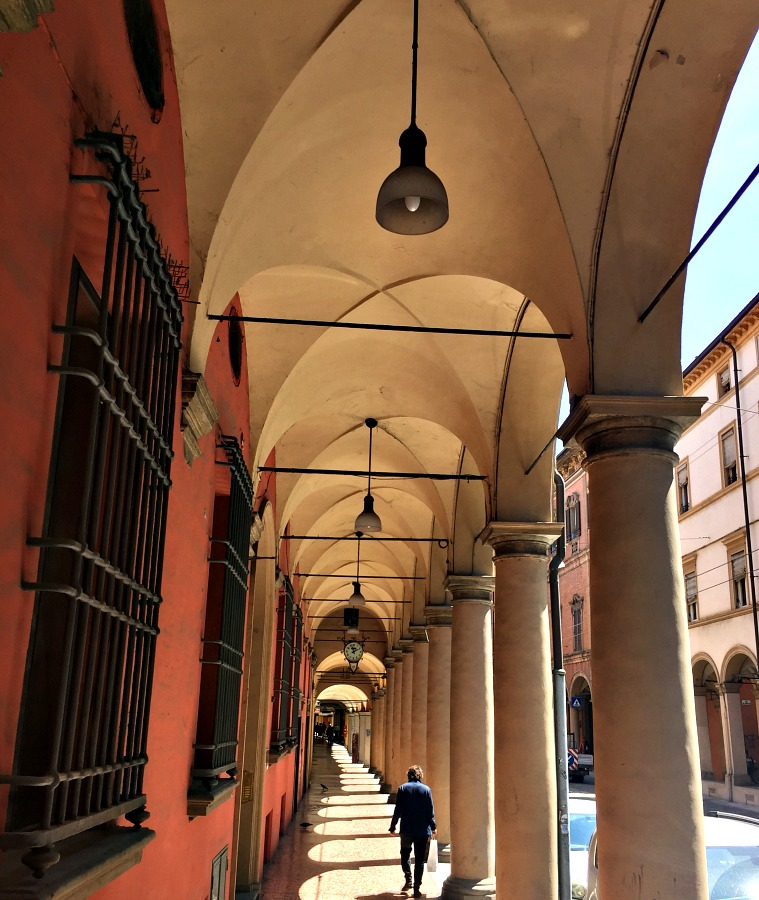 Bologna Italy Covered Walkway